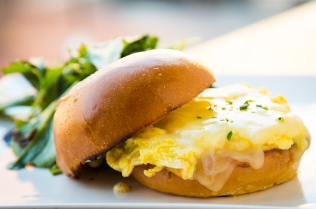 Positano Breakfast Sandwich